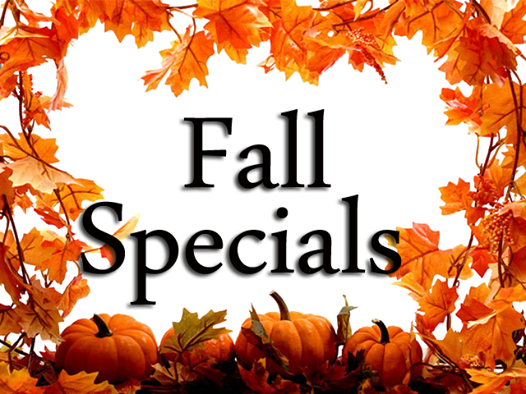 Image result for fall specials